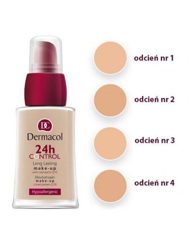 Тональный крем Dermacol 24h Control Make-Up 30ml (ПАЛИТРА 3 шт) №1,3,4